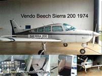 Aviao Beech Aircraft Sierra 200 B24R ótimo