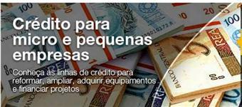 Capital de giro, Carta contemplada, Crédito rural, Maquinários e Caminhões