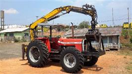 Trator Florestal - MF 292 Ano 2.000 - Grua Marca Madal - Revisado