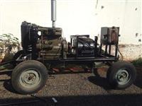 Grupo Gerador de energia 40 KVA Motor MWM com Gerador 40 KVA Na Carreta