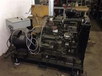 Grupo Gerador 25 KVA motor Yanmar com Gerador Bambozzi