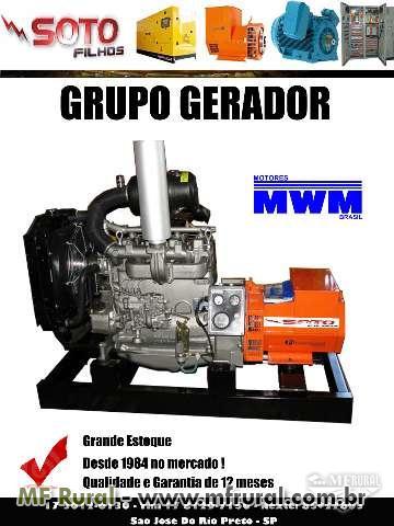 GRUPO GERADOR 15 KVA - GERADOR 15 KVA - GERADOR DIESEL 15 KVA
