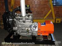 GRUPO GERADOR 55 KVA COM MOTOR MWM