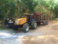 Trator, Autocarregável  (grua florestal)