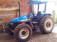 Trator Ford/New Holland TL 95 E Motor MWM 4x4 ano 07