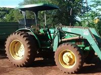 Trator John Deere 5403 (Com PCA 600 Tatu!) 4x4 ano 03