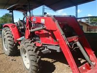 Trator Massey Ferguson 4275 (Com PCA 600 Tatu Lâmina e Concha!) 4x4 ano 13