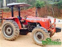 Trator Massey Ferguson 255 4x4 (Apenas 2.800 Horas!) 4x4 ano 08