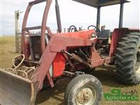 Trator Massey Ferguson 275 (Com Conjunto de Lamina Tatu!) 4x2 ano 00