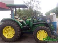 Trator John Deere 5090E (Com PCA 600 Tatu - Apenas 420 Horas!) 4x4 ano 14