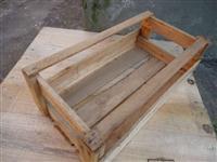 Caixas de madeira p/ frutas, verduras, industria