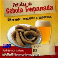 Pétalas de Cebola Empanada