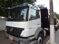 Caminh�o  Mercedes Benz (MB) 2831 Basculante  ano 11