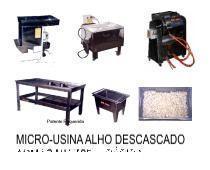 MICRO INDÚSTRIA ALHO DESCASCADO  MU-T25-BASICA