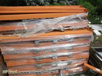 Longarinas de porta palete, marca Aguia, com 2300 mm para 2400 kg