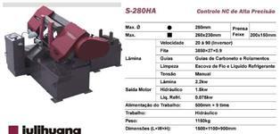 Serra Fita Automática com CNC