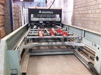 Máquina automatica para fabricação de paletes