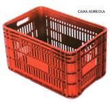 Caixas Plásticas Agrícola Hortifluti Empilháveis