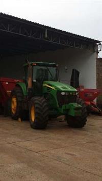 Trator John Deere 7715 4x4 ano 08