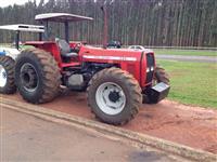 Trator Massey Ferguson 290/2 com Lâmina Dianteira TATU 4x2 ano 80