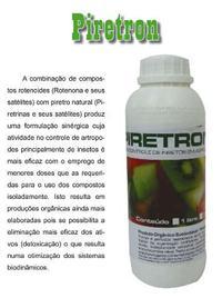 Piretron CE (rotenona+piretrina) orgânico