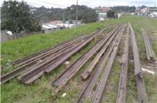 Trilhos ferroviários TR 50,55 e 57