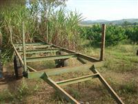 Carreta Agrícola Para Transporte De Tubos de Irrigação