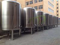 Tanque 1000L em aço inox para água, vinho, óleo,