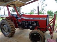 Trator Massey Ferguson 265 4x4 ano 87