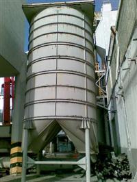 Silos de diametro 3500 mm Altura 5.500 mm com chapa de aço espessura 5 mm