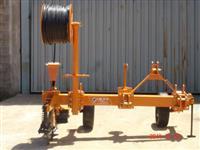 Máquina para Aterramento de Mangueira para Irrigação