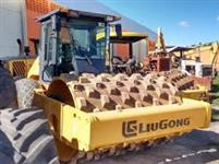 Rolo Compactador Liugong 612H ano 2010 com 944 horas