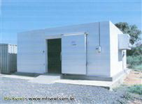 Câmara Fria de 48,44m² com Compressor Semi Hermético Bock