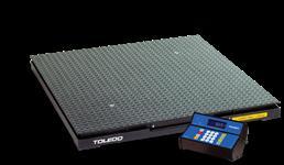 1 BALANÇA ELETRÔNICA DIGITAL DE PISO MARCA TOLEDO MODELO 9091 CAPACIDADE 3.000 K
