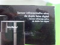 SENSOR INFRAVERMELHO ATIVO DE DUPLO FEIXE, DIGITAL INTELBRAS
