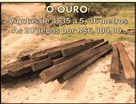 Venda de Dormentes usados de madeira de lei