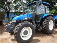 Trator Ford/New Holland TL 80 4x4 ano 02