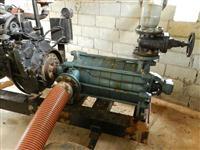 Bomba de Irrigação Modelo KSB 100/6 + 35 Tubos de Aluminio 5 polegadas