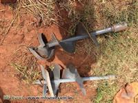 Perfurador de solo - Baldan - NOVO - com 3 brocas