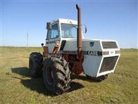 Trator Case super inteiro 4x4 ano 83