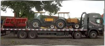 Precisa de Transporte especializado de Máquinas Agrícolas