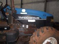Trator Ford/New Holland TM 120 4x4 ano 98