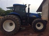 Trator Ford/New Holland NH 7060 4x4 ano 08