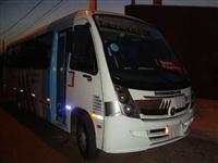 Micro Onibus Lo 812 com 24 lugares Motor E Bomba Zero Comprado Na Mercedes