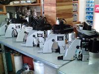 Máquina de costura industriais e portateis para sacaria