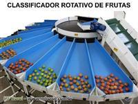 Beneficiador de Frutas / Classificador / Aplicador de Cera para Frutas