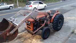 Trator Agrale + Implementos 4x2 ano 95