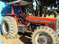 Trator Massey Ferguson 296 4x4 ano 87