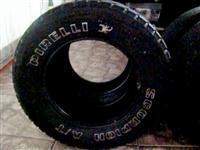 Jogo Pneus Pirelli 245/70 R16 usados