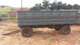Carreta de 4 rodas 6 tonelada